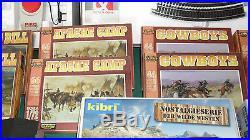 Vend train HO PIko état neuf avec maison, figurines western KIBRI voir photo