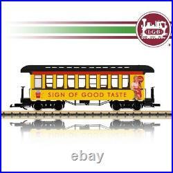 Voiture voyageurs Coca Cola Ep III train de jardin-G 1/22.5-LGB 36812