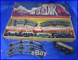W767 Coffret Train Lux Eclair Jouets C R Rossignol & C. Roitel En Boite N°3004