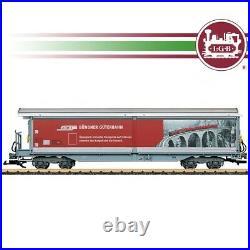 Wagon couvert à parois coulissantes RhB Ep VI train de jardin-G 1/22.5-LGB 48573