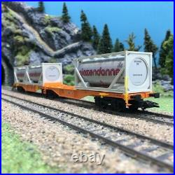 Wagon porte conteneurs Sggrss Wascosa Ep VI-HO 1/87-MARKLIN 47805