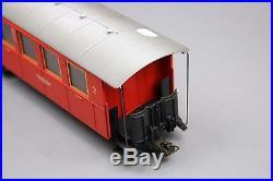 X733 Marklin Minex Oe 4400 voiture voyageur red carriage 1971 1972